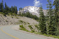 Mount Shasta, a volcano in the Cascade Range, Northern California Royalty Free Stock Photo
