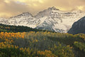 Mount sneffels range colorado usa Stock Photo