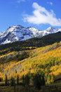 Mount sneffels range colorado usa Royalty Free Stock Photos