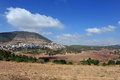Mount Tabor and Izrael Valley Royalty Free Stock Image