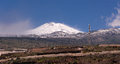 Mount teide tenerife seen from alcala Stock Images