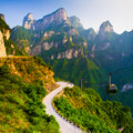 Mount Tianmen (Heavenly Gate),...