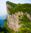 Mount Tianmen (Tianmenshan), Hunan China Stock Photo