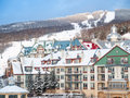 Mount-Tremblant ski resort Royalty Free Stock Photos