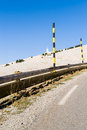 The mount ventoux by bedoin france south Stock Photo