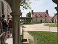Mount Vernon was the plantation home of George Washington Royalty Free Stock Photo