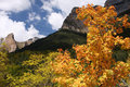 Mountain autumn Royalty Free Stock Photography
