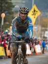 Mountain bike cross world championship Royalty Free Stock Images