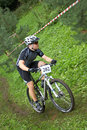 Mountain Bike MTB XC RACER Royalty Free Stock Photo