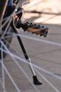 Mountain bike pedals Royalty Free Stock Photo