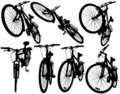 Mountain bikes Royalty Free Stock Photography