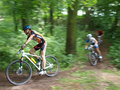 Mountain biking lublin poland xviii championship of the voivodeship in family cup th june Stock Image