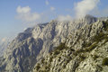 Mountain biokovo in croatia dinaric alps Stock Photos