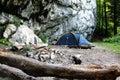 Mountain Camp Royalty Free Stock Photo