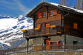 Mountain Chalet Royalty Free Stock Photography