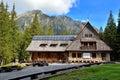 Mountain chalet. Royalty Free Stock Photo