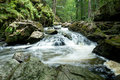 Mountain creek doubrava slow shutter speed czech in czech republic with Stock Photos
