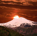 Mountain Elbrus. Royalty Free Stock Photos