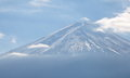 Mountain fuji in winter season from yamanashi japan Royalty Free Stock Photos