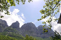 Mountain in greece epirus west Royalty Free Stock Images