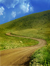 Mountain green path Royalty Free Stock Photography