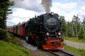 Mountain harz germany brocken the highest peak in the mountains with the brocken railway northern Stock Photos