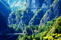 Mountain Highway Royalty Free Stock Photo