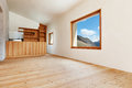 Mountain home room architecture modern design Royalty Free Stock Image