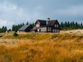 Mountain hut in jizera mountains czech republic Stock Photos