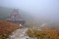 A mountain hut in Tatra mountains, Poland Royalty Free Stock Photography