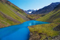 Mountain lake the djasyl kol in the tien shan mountains Stock Images