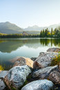 Mountain lake in High Tatra