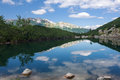 Mountain lake high tatras slovakia europe Royalty Free Stock Photo