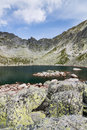 Mountain lake high tatras slovakia europe Royalty Free Stock Photography