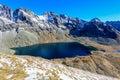 Mountain lake Hincovo pleso