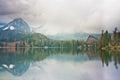 Mountain Lake Mist