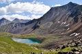 Mountain Lake Nogon-Nur. Royalty Free Stock Photo