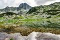 Mountain lake in Retezat, Romania, Europe Royalty Free Stock Photo