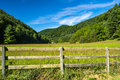Mountain Landscape – Blue Ridge Mountains, Virginia, USA Royalty Free Stock Photo