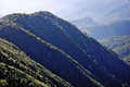 Mountain landscape in alpes maritimes Stock Photography