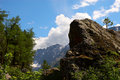 Mountain landscape of Altay. Royalty Free Stock Photo