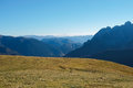 Mountain landscape autumn in val di scalve alps mountains italy Royalty Free Stock Image