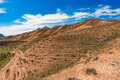 Mountain landscape blue sky over day Royalty Free Stock Images