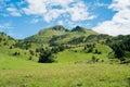 Mountain landscape green mountains in val di scalve schilpario italy Stock Photo