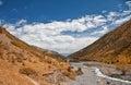 Mountain landscape. Issik-Ata Gorge Stock Photo