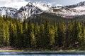 Mountain landscape mt evans colorado echo lake