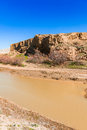 Mountain landscape. River Royalty Free Stock Photo
