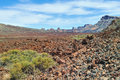 Mountain landscape teide national park tenerife canary islands Stock Images