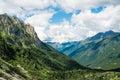 Mountain landscape in val di scalve schilpario italy Royalty Free Stock Photos
