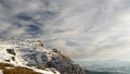 Mountain landscape in winter time in carphatians nceahlau Stock Image